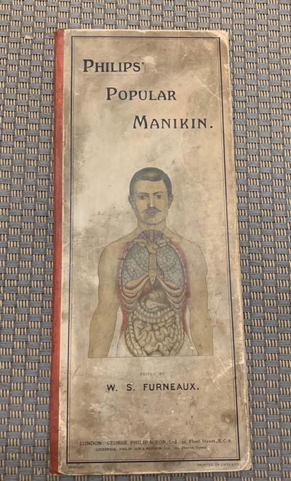 "Lot 155 - ""Philips Popular Manikin"" book edited by W.S Furneaux"