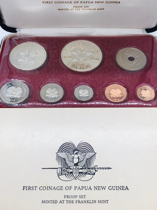 Lot 104 - A First Coinage of Papua New Guinea, proof set