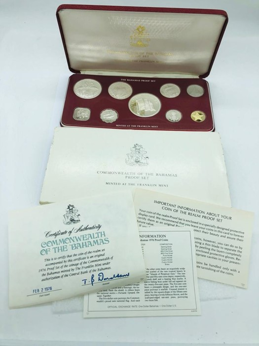 Lot 107 - Proof Set coins, Commonwealth of the Bahamas