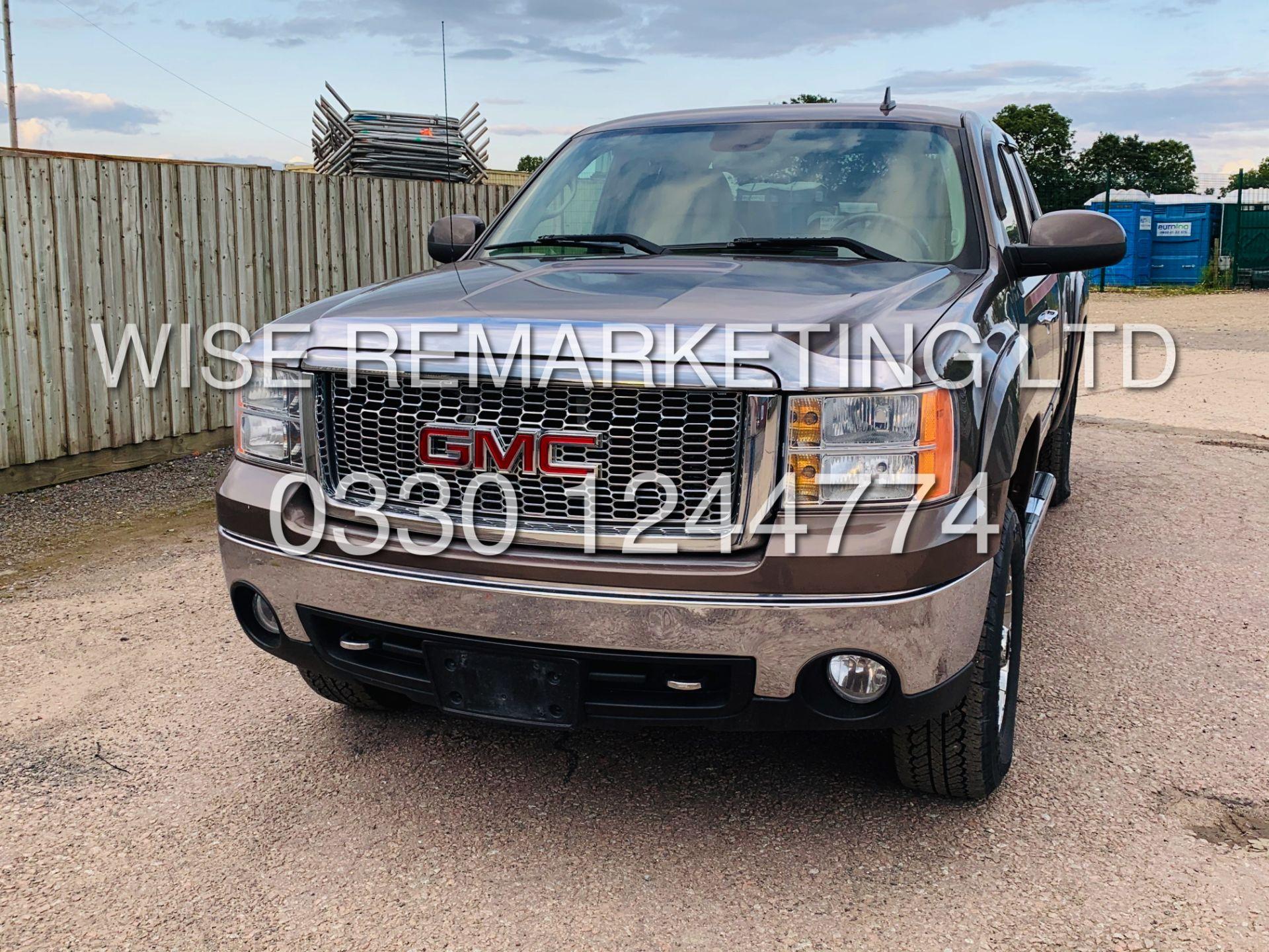 Lot 8A - GMC SIERRA 5.3L V8 SLT KING-CAB-5 SEATS**4X4**FRESH IMPORT**METALLIC BROWN**2007 YEAR**