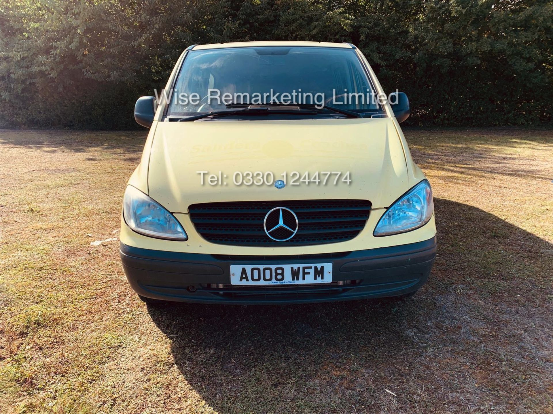 Lot 9 - MERCEDES VITO 111 2.1 CDI TRAVELINER **9 SEATER** (2008 08 REG) 1 KEEPER FROM NEW