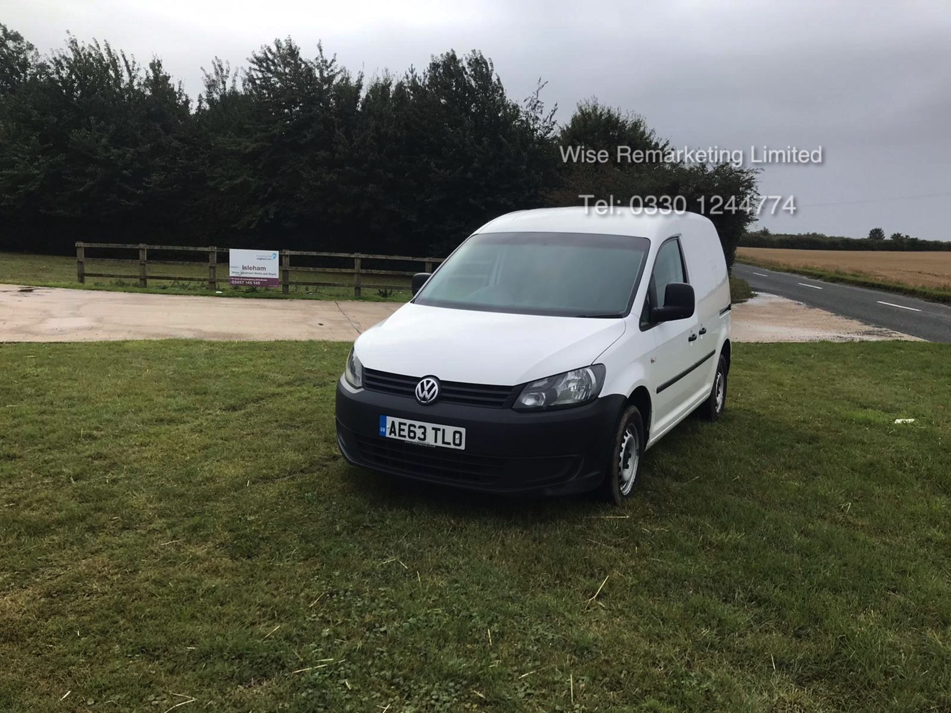 Lot 38 - Volkswagen Caddy C20 + Startline 1.6 Tdi - 2014 Model - White
