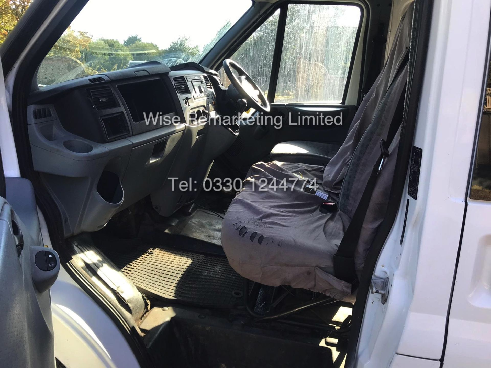 Lot 20 - FORD TRANSIT T350 RWD 2.2l 125 BHP MESSING UNIT (2013 63 REG) - 1 KEEPER FROM NEW