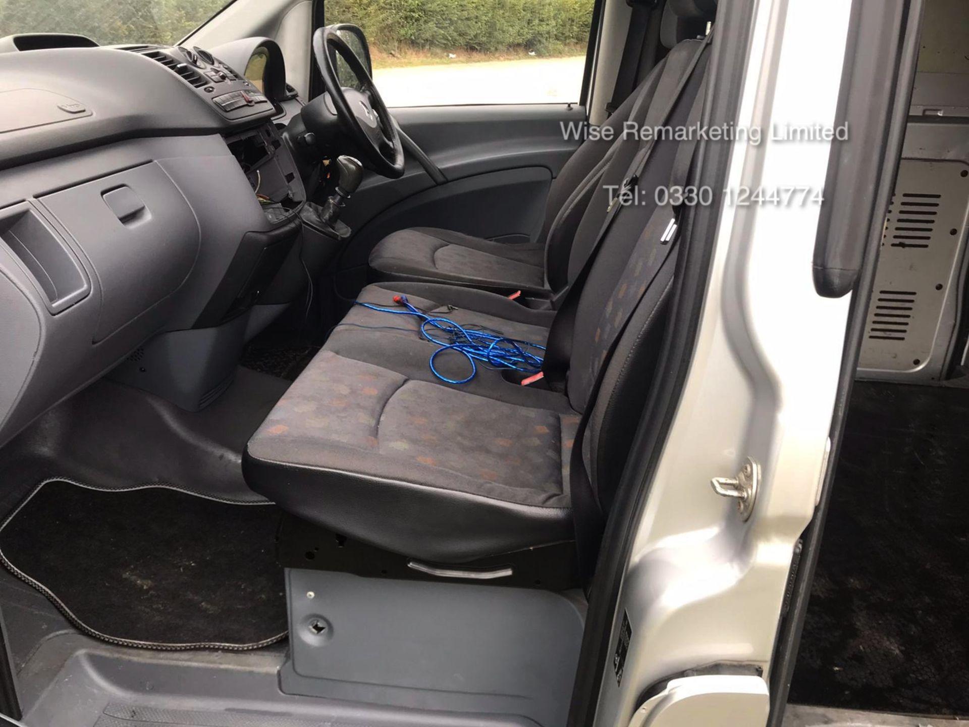 Lot 37 - Mercedes Benz Vito 111 2.2 Cdi Long - 2009 Model - 6 Speed - Air Con - NO VAT
