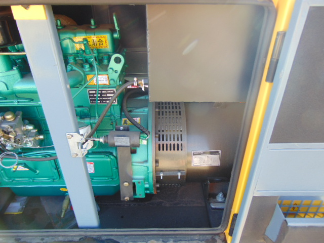 Lot 18 - UNISSUED WITH TEST HOURS ONLY 30 KVA 3 Phase Silent Diesel Generator Set