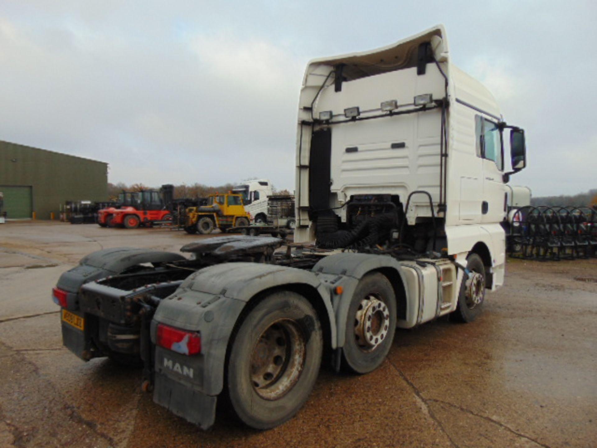 Lot 10 - MAN TGX 26.440 44ton 6x2 Tractor unit