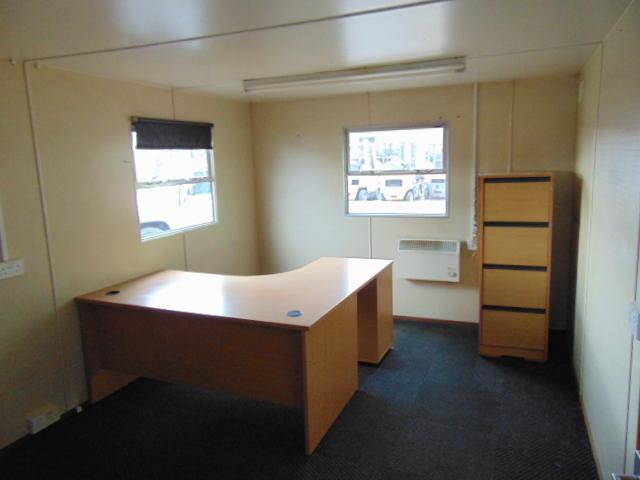 Lot 35 - 9.6 x 3m Anti-Vandal Portable 2 x Office Unit