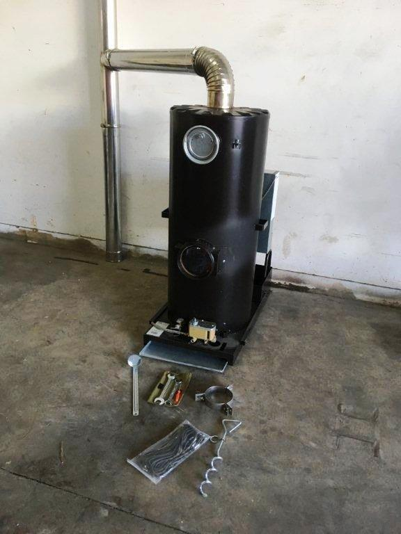 Lot 5 - Unissued Deville Campaign Multi-Fuel Heater