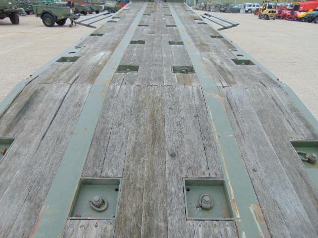 Lot 9 - 2002 Oldbury Tri Axle Sliding Deck Plant Trailer