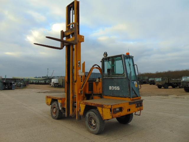 Lot 13 - Lancer Boss 556 Sideloader Diesel Forklift