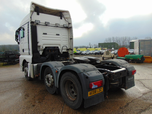 Lot 10 - MAN TGX 26.440 44ton 6x2 Tractor unit