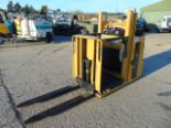 Lot 8 - 2009 CAT NOL10NF Low Level Electric Order Picker