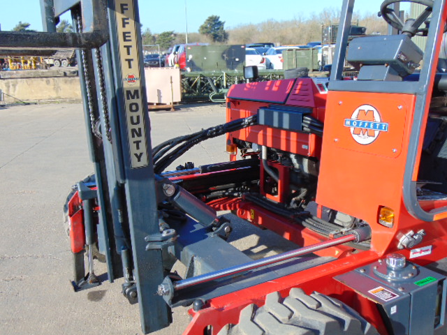 Lot 23 - Moffett Mounty M2003 Truck Mounted Forklift C/W Meijer Hydraulic Extension Forks only 1,321 hours!