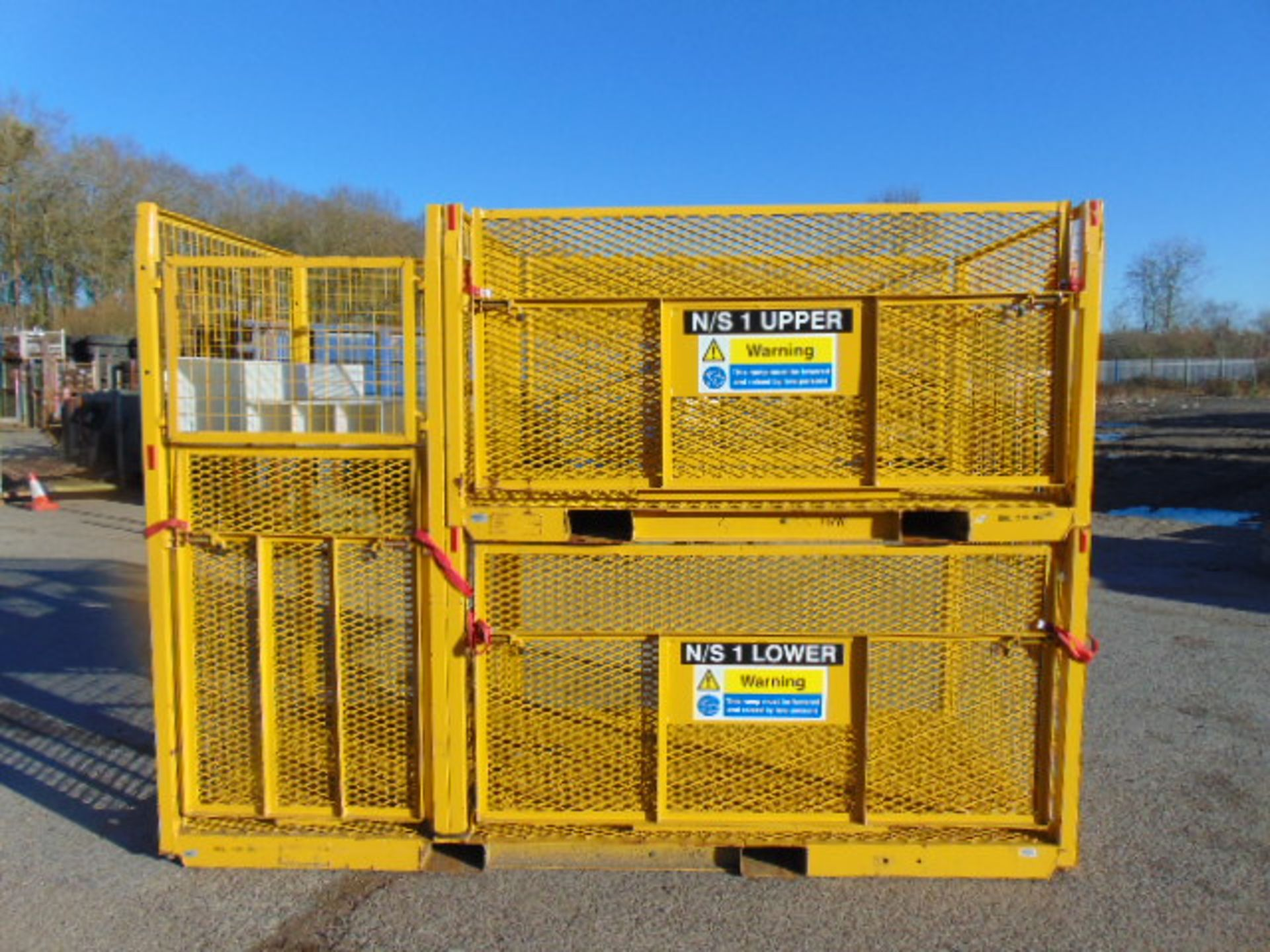 Lot 26 - Drop Side Cage Pallet / Stillage Assy