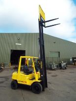 Lot 18 - Hyster H2.50XM Counter Balance Diesel Forklift