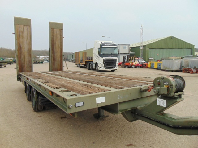 Lot 33 - King DT99 Draw Bar Plant Trailer