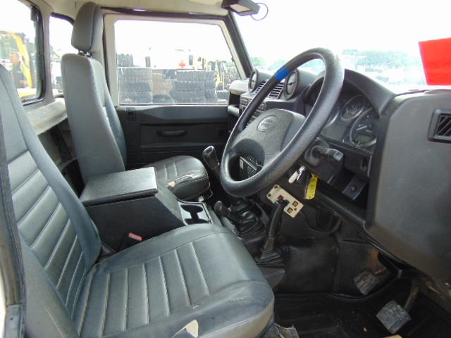 Lot 3 - Land Rover 110 2.4TDCi Defender Fitted with V130 13 Metre Platform Access Hoist