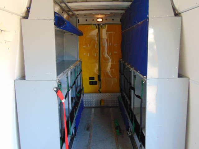 Lot 37 - 2009 Iveco Daily 65C18 3.0 HPT Long Wheel Base High roof panel van ONLY 8402 Miles!!!