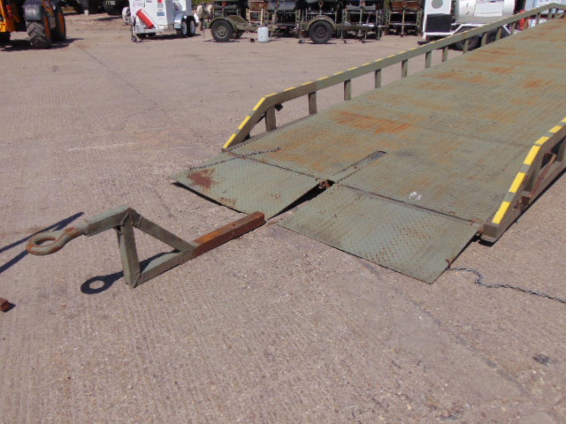 Lot 35 - Direct MoD Bicester 7 Tonne Hydraulic Loading Ramp