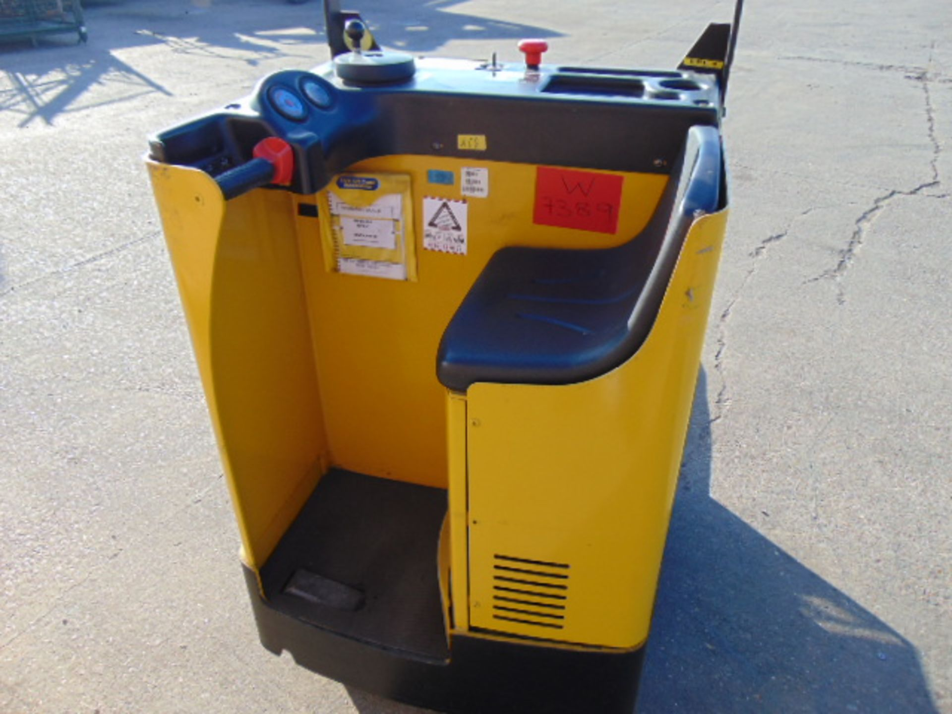 Lot 9 - 2012 Yale MP20T 2000Kg Electric Sit On Pallet Truck C/W Charger
