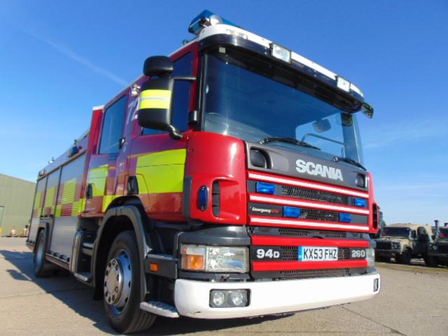 Lot 30 - Scania 94D 260 / Emergency One Fire Engine