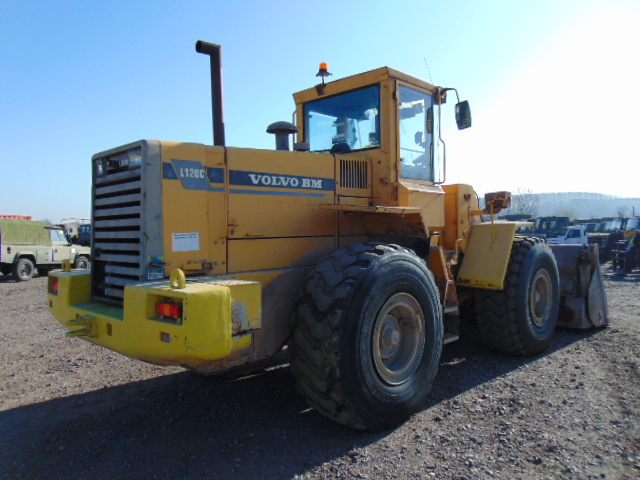 Lot 40 - Volvo BM L120C Wheel Loader C/W Quick Hitch High Tip Bucket