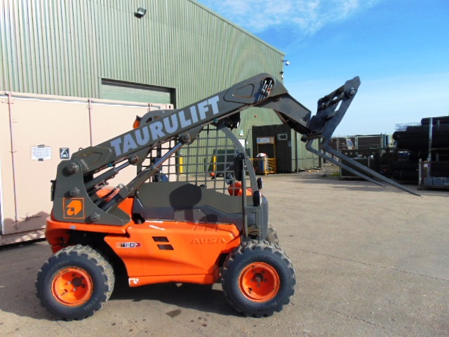 Lot 24 - 2010 Ausa Taurulift T133H 4WD Compact Forklift with Pallet Tines