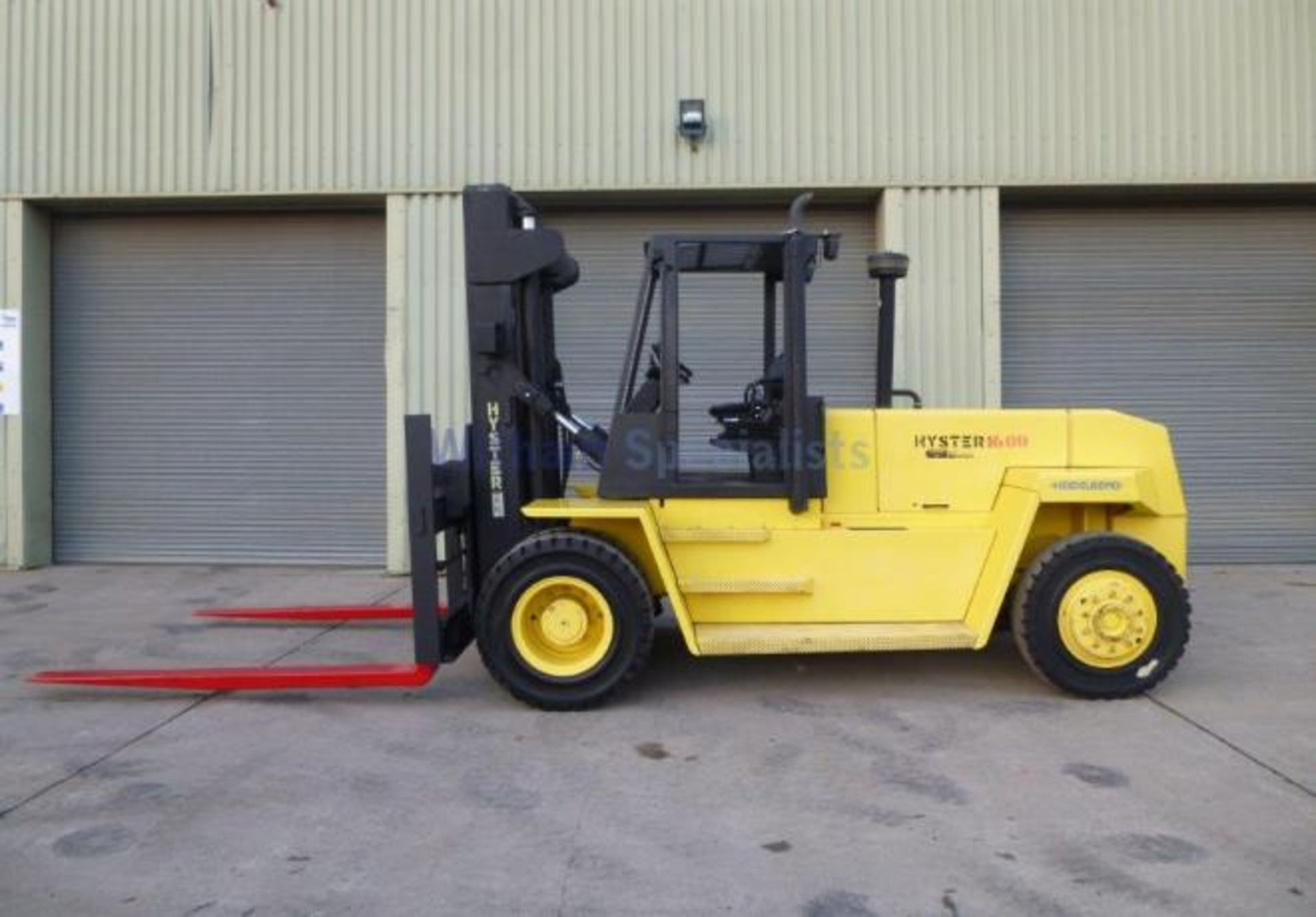 Lot 22 - Hyster H16.00 XL2 16 Tonne 729 Hours Only!!!