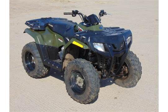 You are bidding on a Polaris Sportsman 400 HO 4WD Quad Bike