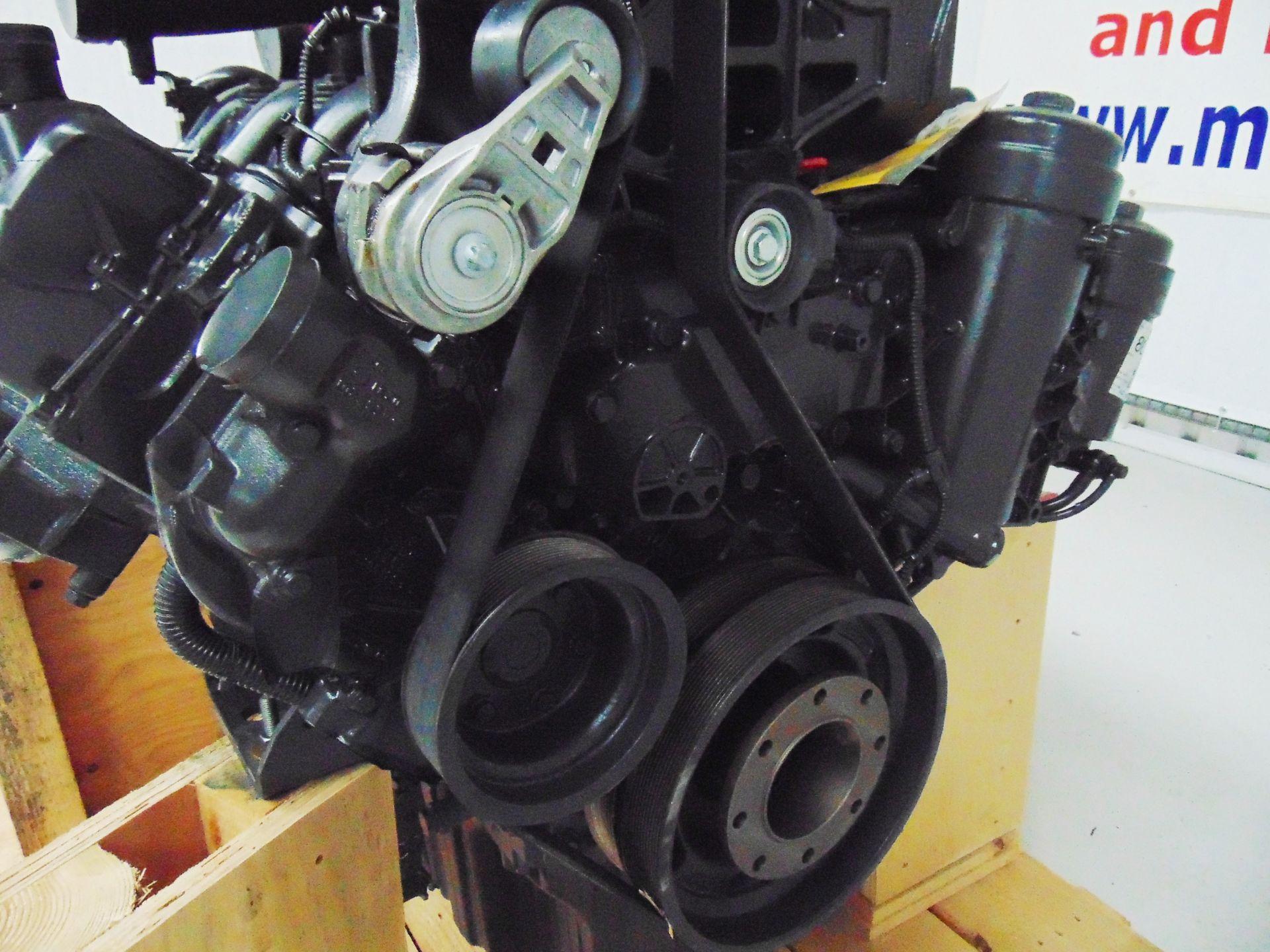 Lot 13 - Factory Reconditioned Mercedes-Benz OM501LA V6 Turbo Diesel Engine