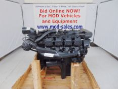 Factory Reconditioned Mercedes-Benz OM402LA V8 Twin Turbo Diesel Engine