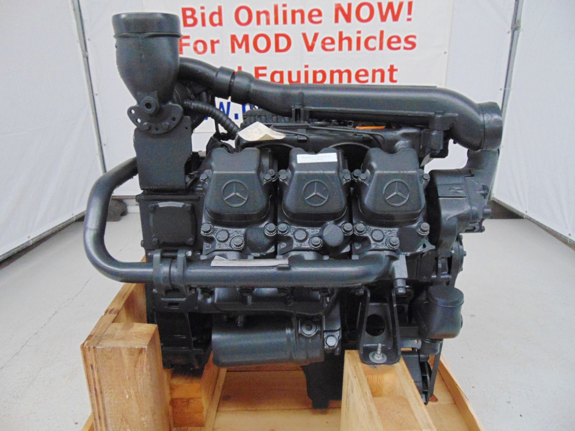 Lot 2 - Factory Reconditioned Mercedes-Benz OM441 V6 Turbo Diesel Engine