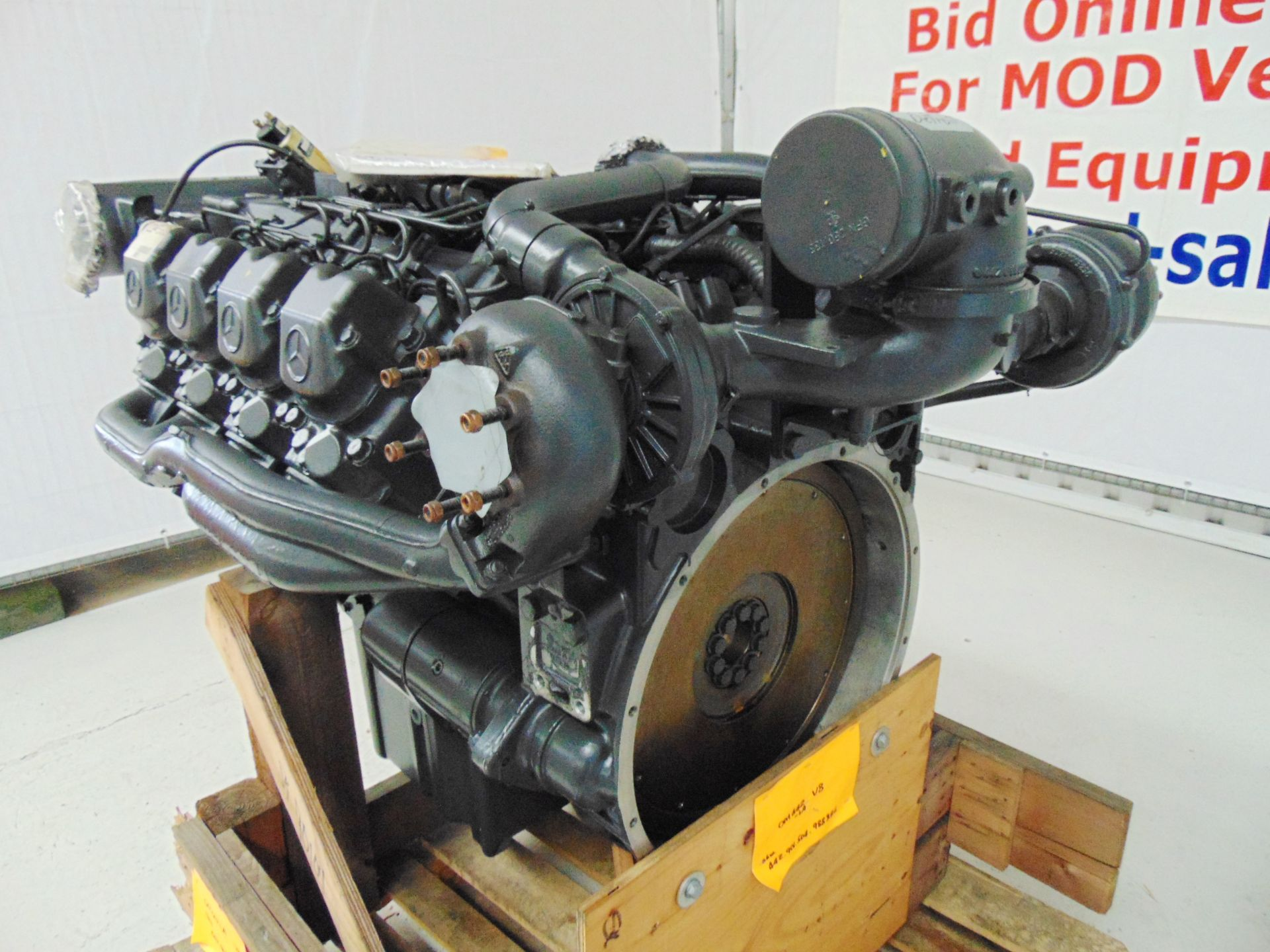Lot 1 - Brand New & Unused Mercedes-Benz OM442LA V8 Twin Turbo Diesel Engine