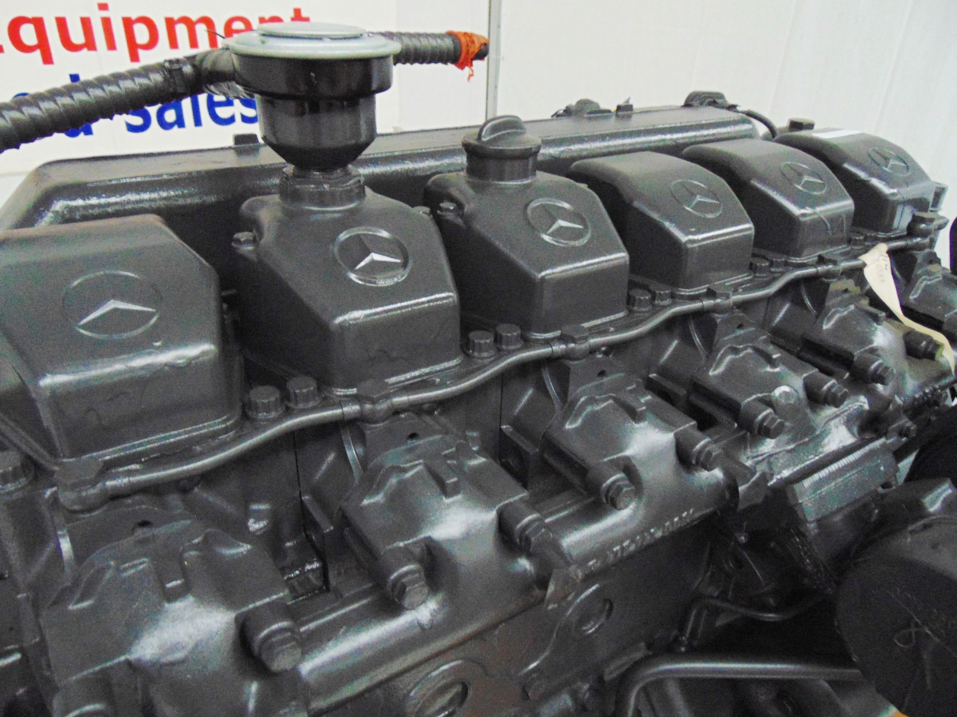 Lot 14 - Factory Reconditioned Mercedes-Benz OM457LA Turbo Diesel Engine