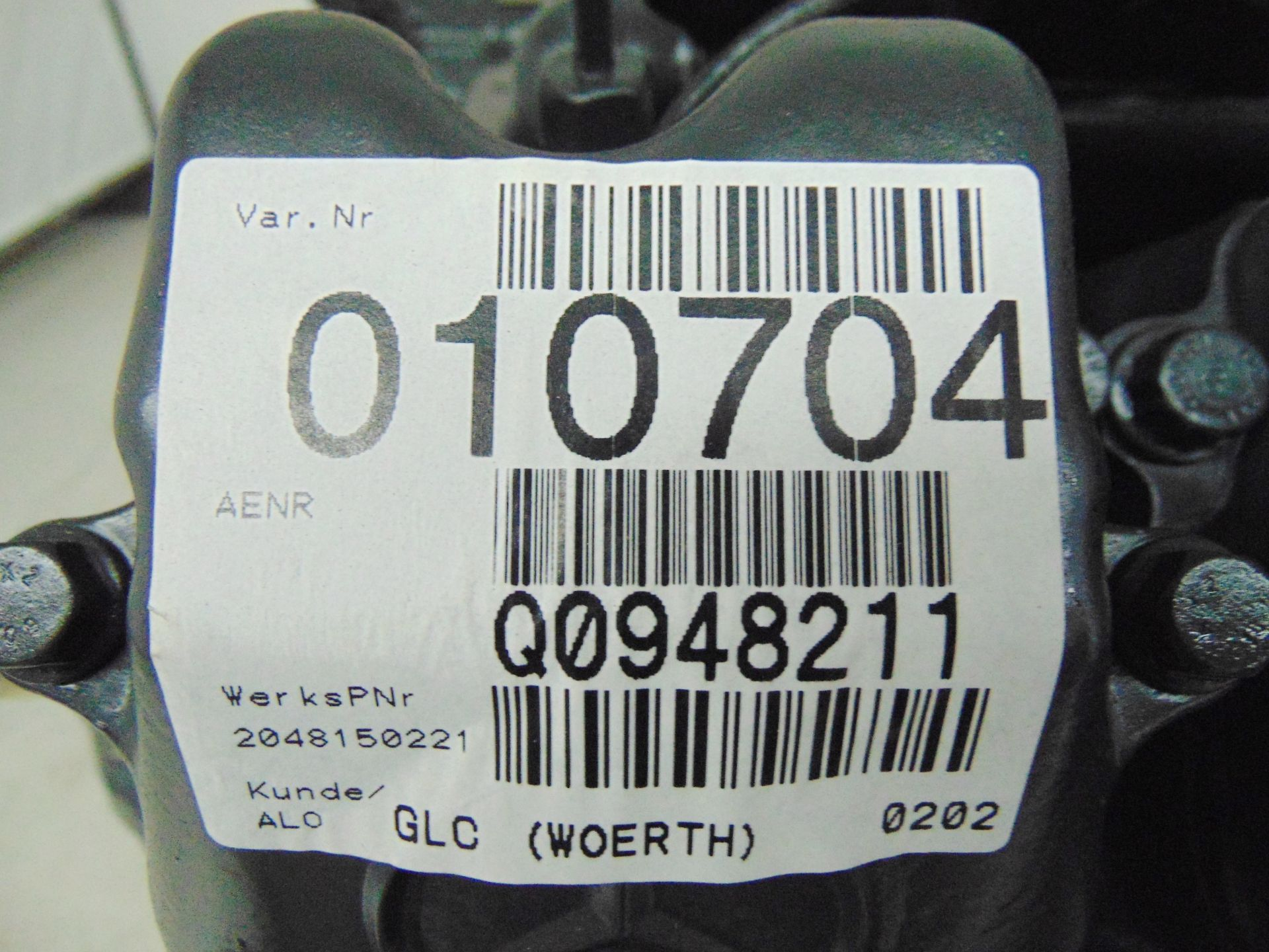 Lot 9 - Factory Reconditioned Mercedes-Benz OM441 V6 Turbo Diesel Engine