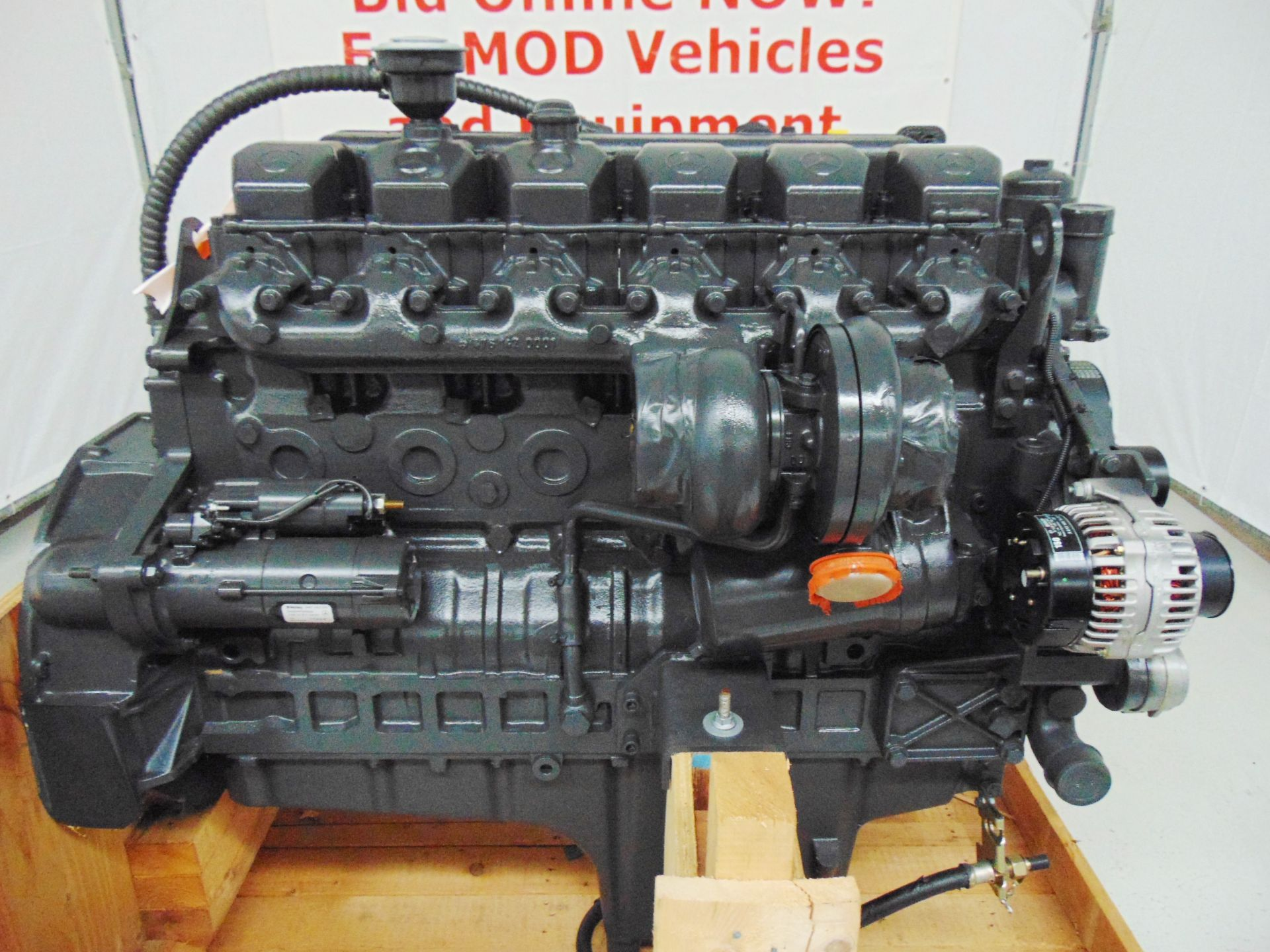 Lot 20 - Factory Reconditioned Mercedes-Benz OM424 V12 Turbo Diesel Engine