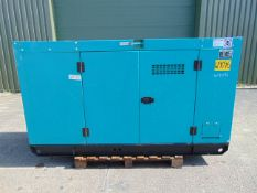UNISSUED WITH TEST HOURS ONLY 100 KVA 3 Phase Diesel Generator Set