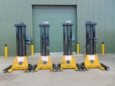 Set of 4 Somers 5T Mobile Column Vehicle Lifts (5T Per Column)