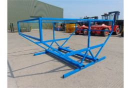 Large Irrigation Pipe Storage Frame with Forklift Points