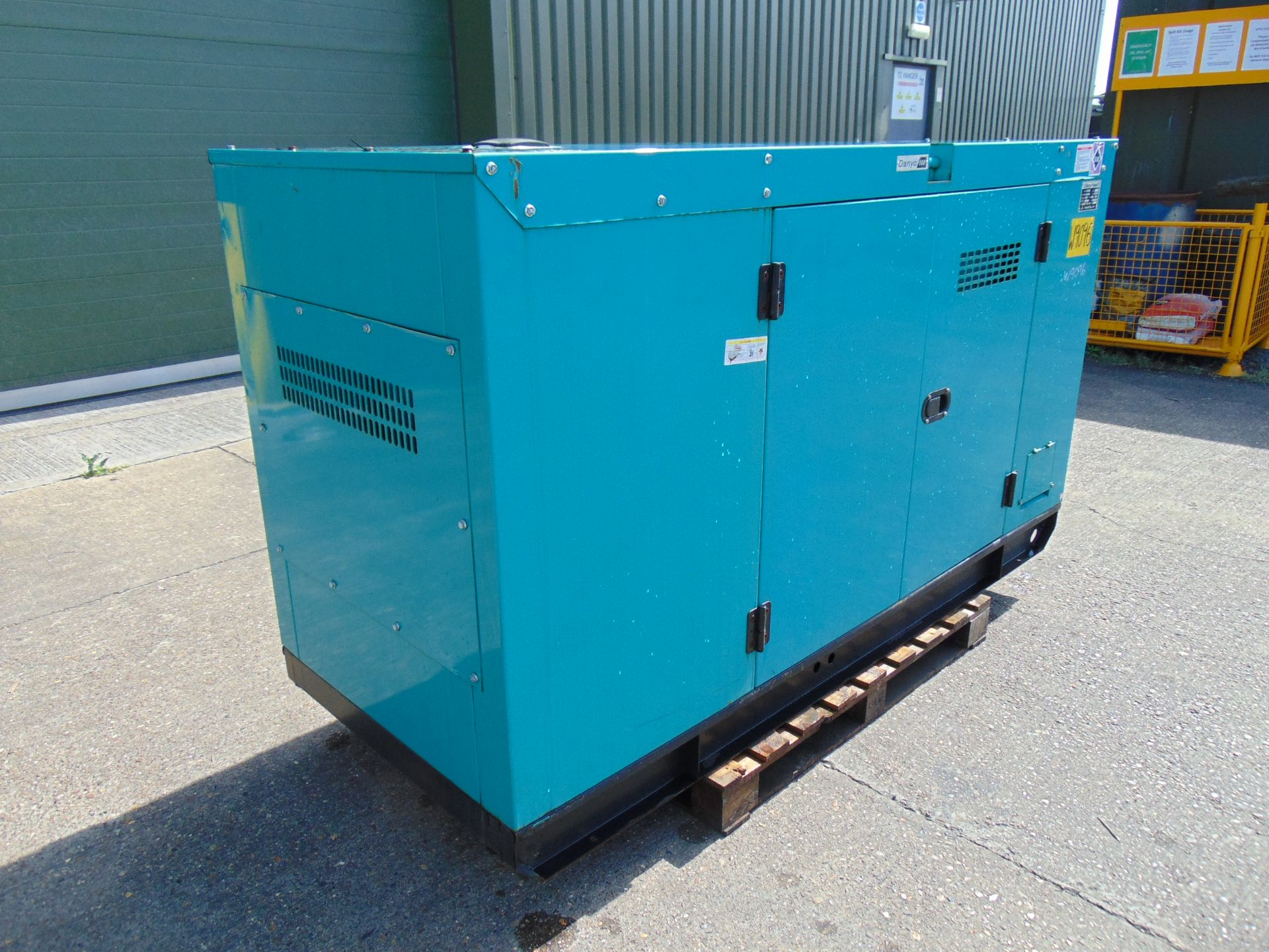 Lot 36 - UNISSUED WITH TEST HOURS ONLY 100 KVA 3 Phase Diesel Generator Set