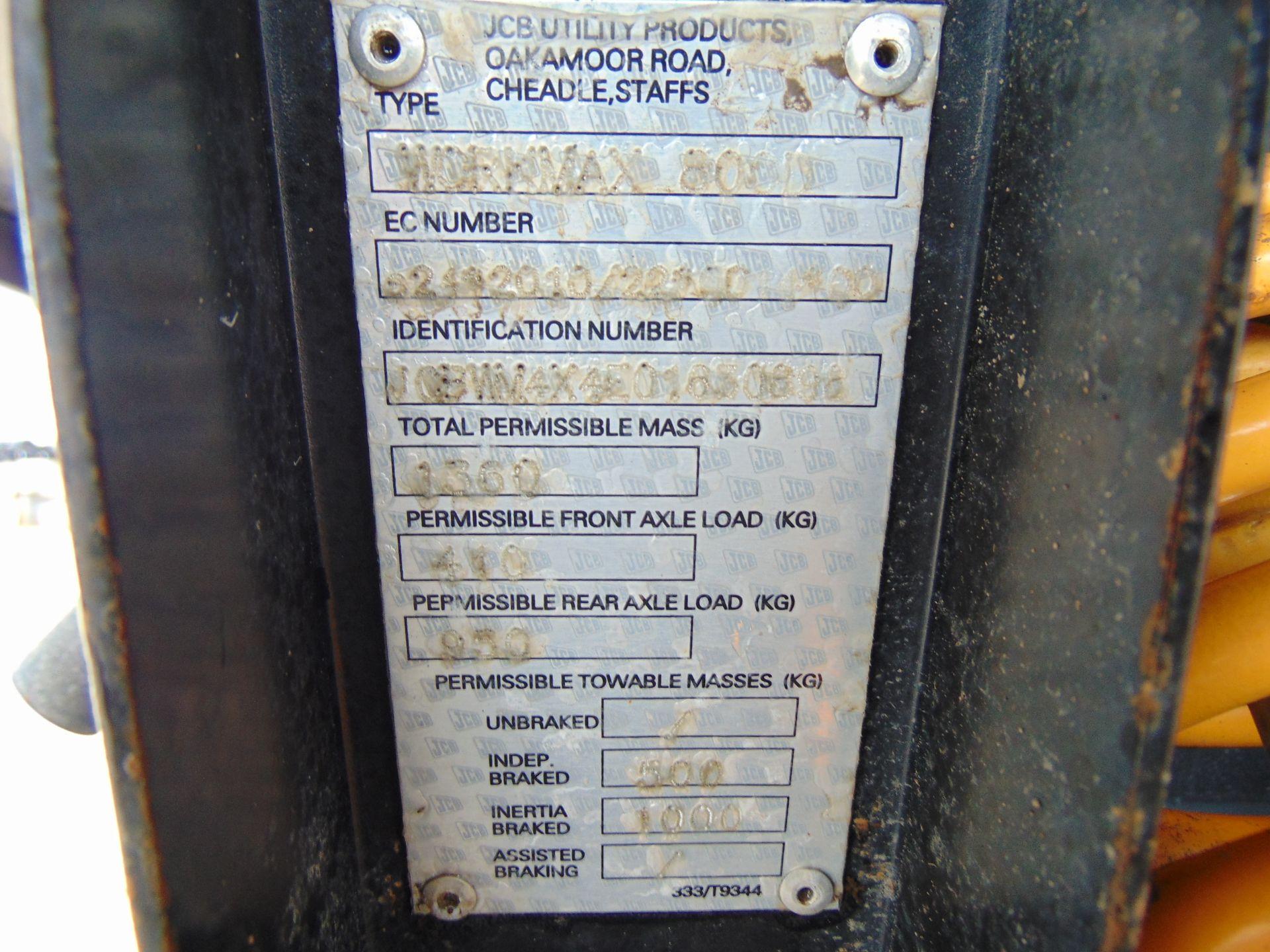 Lot 24 - JCB Workmax 800D 4WD Diesel Utility Vehicle UTV ONLY 58 Hours!!