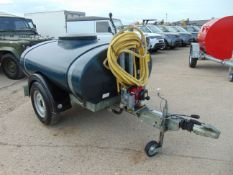1000L Single Axle Western Trailers Water Bowser