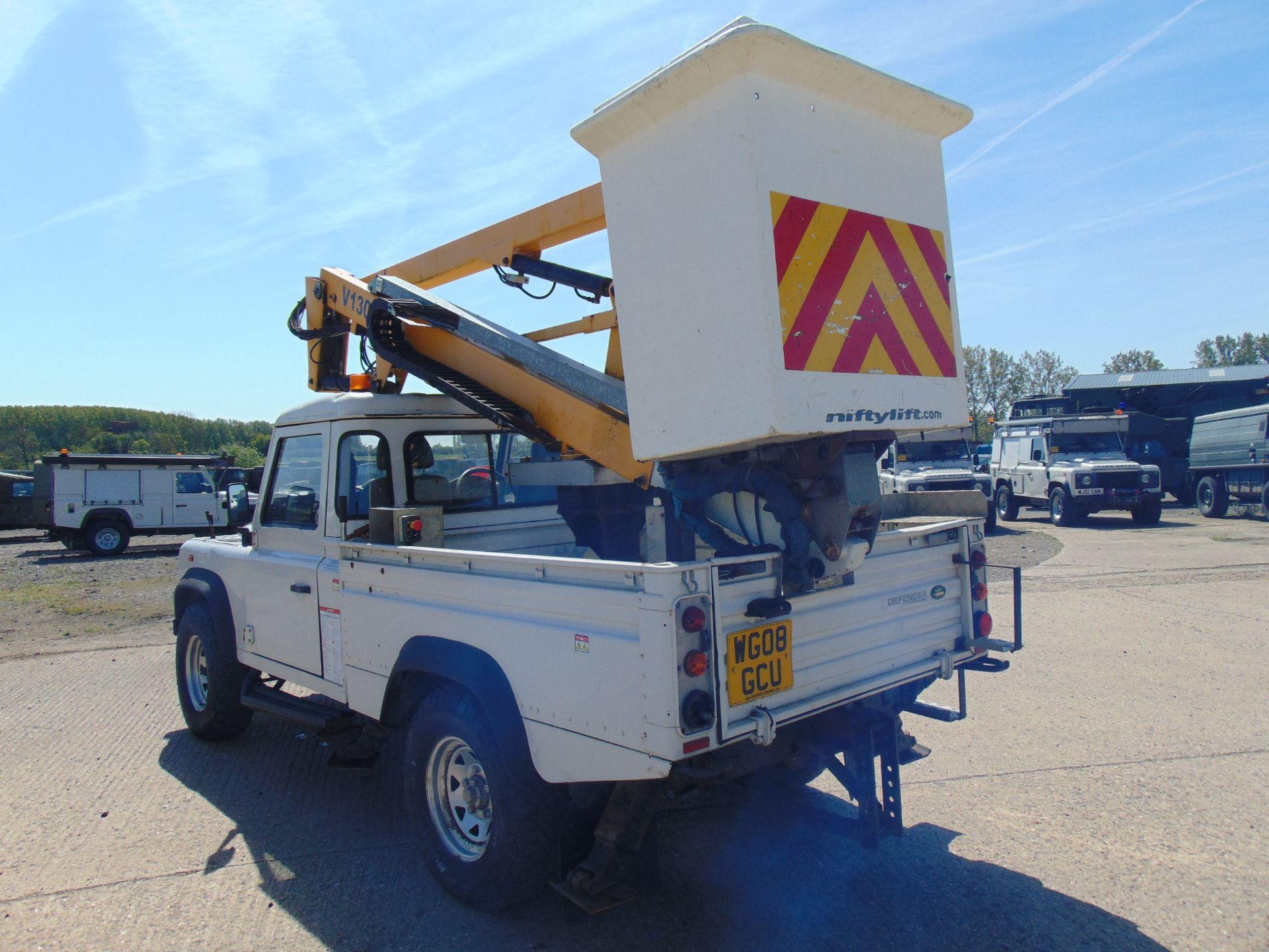Lot 23 - Land Rover Defender 110 High Capacity Cherry Picker