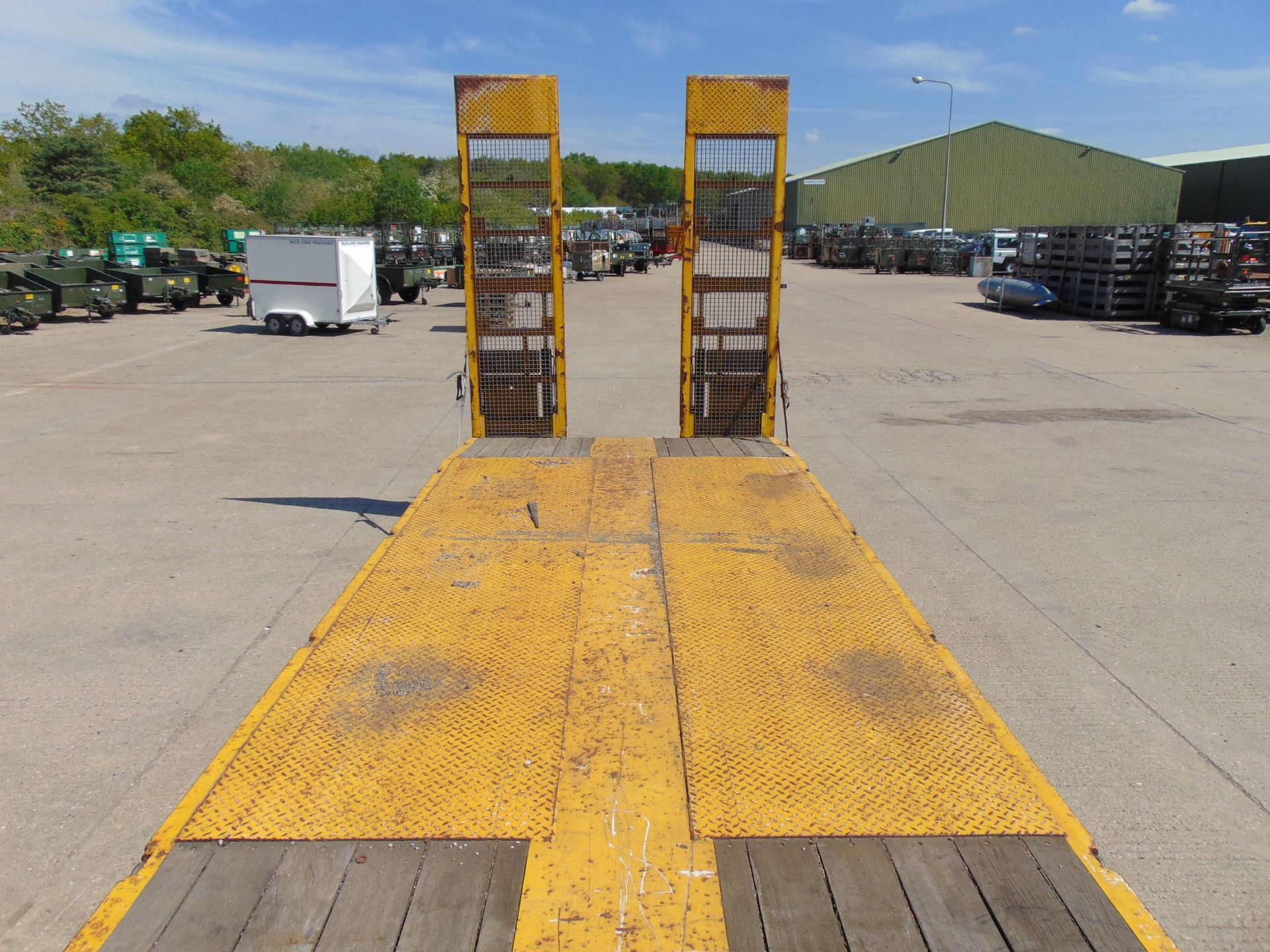 Lot 15 - 2010 Nooteboom OSDS 48-03 Tri Axle Low Loader Trailer