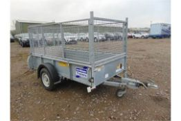Ifor Williams GD84 Single Axle Cage Trailer c/w Loading Ramp