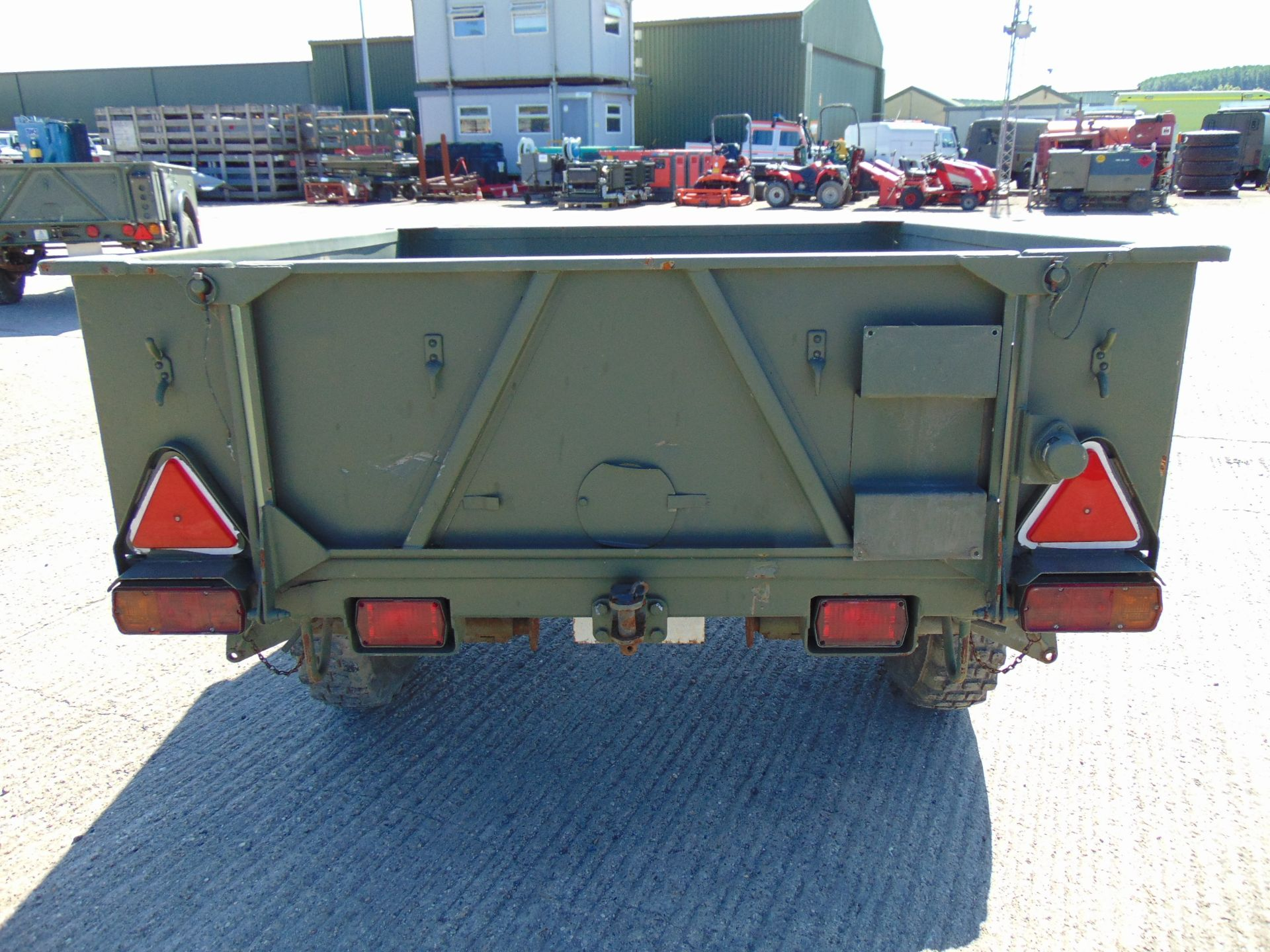 Lot 16 - Ex Reserve Sankey 3/4 ton widetrack trailer