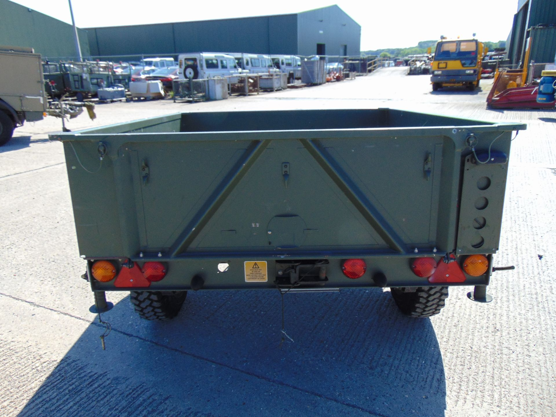 Lot 11 - Penman General Lightweight Trailer