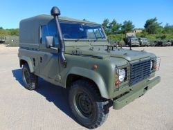 Online auction of Land Rovers. Land Rover Wolf 90 & 110, Tithonus 110, Armoured Snatch, Land Rover Engines, Series II Dormobile Camper, Trailers
