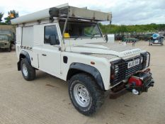 Land Rover Defender 110 Puma Hardtop 4x4 Special Utility (Mobile Workshop) complete with Winch