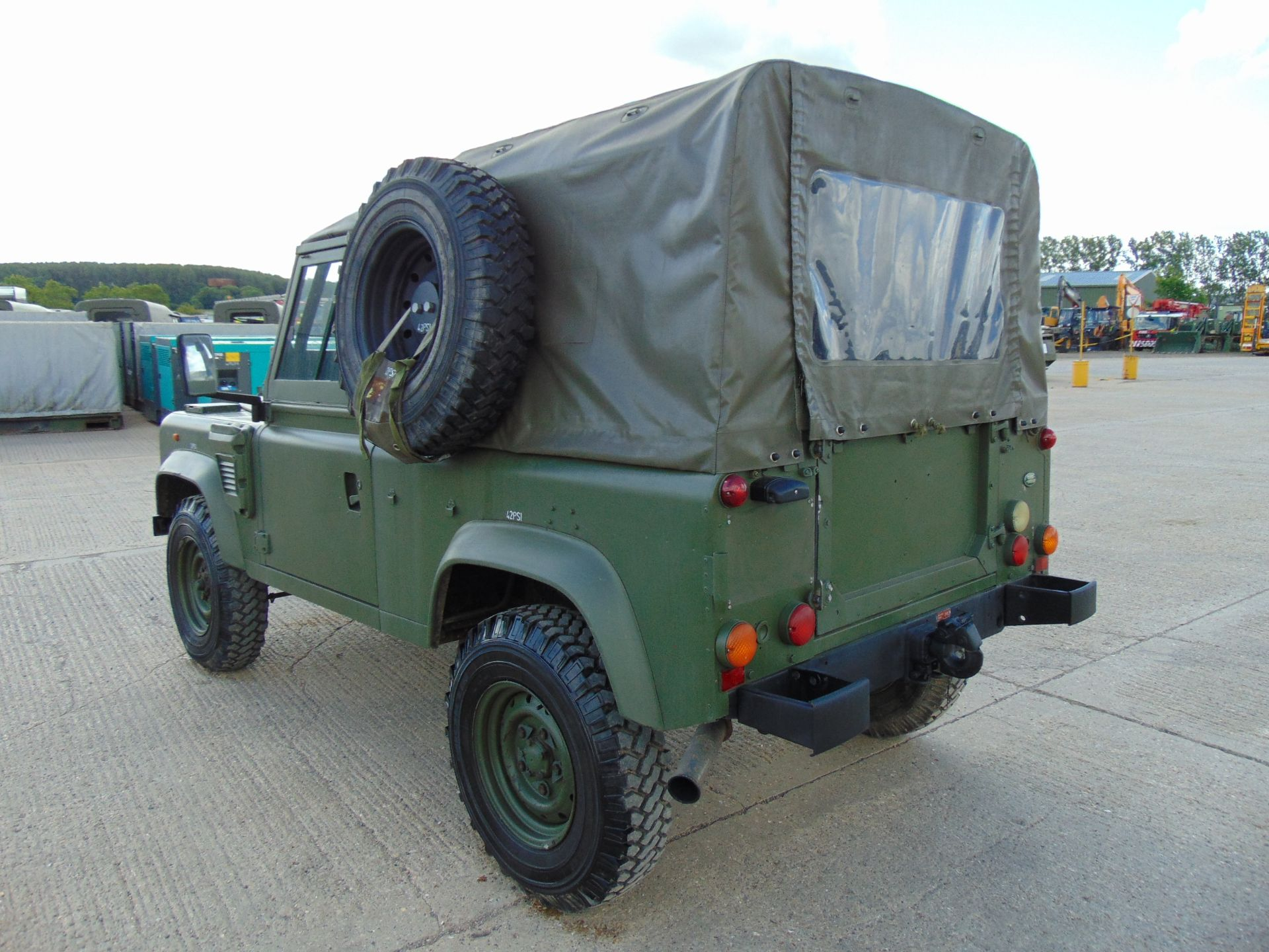Lot 5 - Land Rover Wolf 90 Soft Top